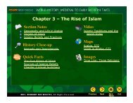 Chapter 3 – The Rise of Islam - J-blanchard.org