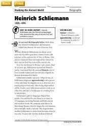Heinrich Schliemann - J-blanchard.org
