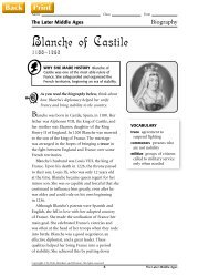 Blanche of Castile - J-blanchard.org