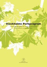 Stockholms Parkprogram - Spacescape