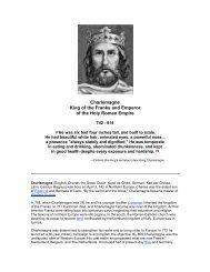 Charlemagne Reading - J-blanchard.org