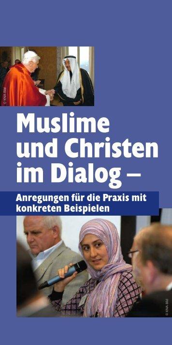 Muslime und Christen im Dialog - Erzbistum Köln