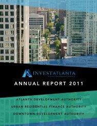 Invest Atlanta Annual Report 2011
