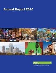 Invest Atlanta Annual Report 2010