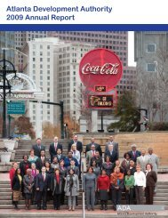 Invest Atlanta Annual Report 2009
