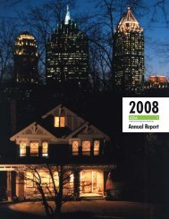 Invest Atlanta Annual Report 2008
