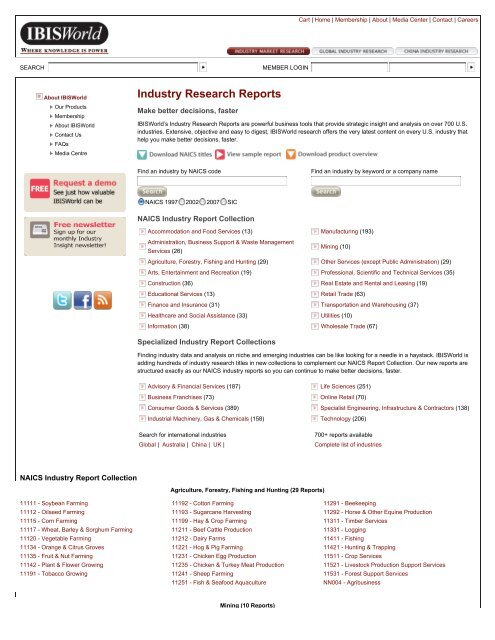 IBIS Industry Research Reports pdf - Business Plans Hawaii