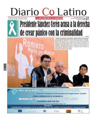 Edición 15 de Abril de 2015