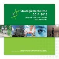 Stratégie Recherche 2011-2015 - Doctorat