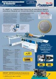 Holzbearbeitungsmaschinen für Handwerker - Schroers  GmbH