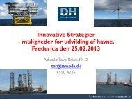 Hvorfor Innovation? - Danske Havne