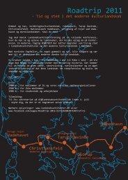 Program Roadtrip 2011 - Danske Landskabsarkitekter