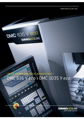 DMC 635 V eco ı DMC 1035 V eco - NC-92 doo
