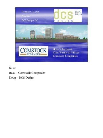 Doug Carter, DCS Design, Loudoun Station - Dulles Corridor Rail ...