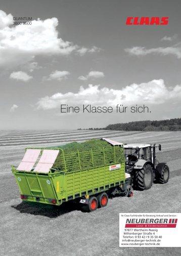 CLAAS QUANTUM 3500 - 3800 Ladewagen
