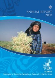ICARDA annual report 2007
