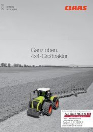 Claas Xerion 4500 - NEUBERGER Land- & Fördertechnik