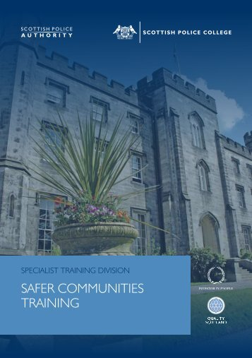 safer communities training - Scottish Community Safety Network