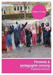Förskola & pedagogisk omsorg - Enköping