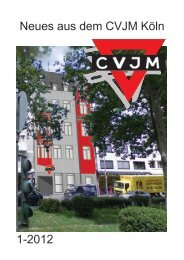 Anzeiger 1/2012 - CVJM Köln e.V.