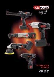 KS Tools - Narzędzia akumulatorowe - IM