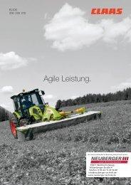 Claas Elios 200 Traktor