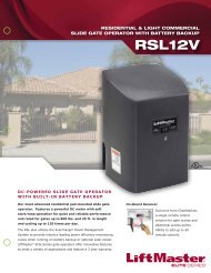 RSL12V Brochure - Hoover Fence