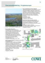 Overvannshåndtering - Prosjekteksempler - Cowi