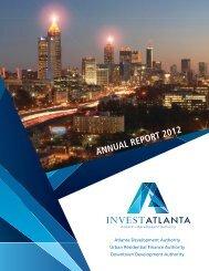 Invest Atlanta Annual Report 2012