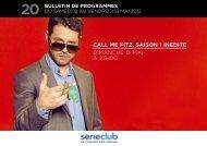 call me fitz, saison 1 inedite dimanche 13 mai a 23h00 - M6 Publicité