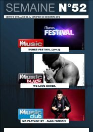 ITUNES FESTIVAL (2012) WE LOVE BOOBA MA PLAYLIST BY ...