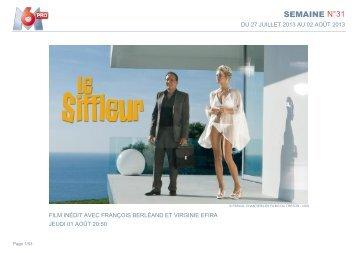 SEMAINE N°31 - M6 Publicité