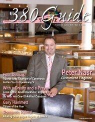 Peter Nasr Customized Elegance - 380Guide Magazine