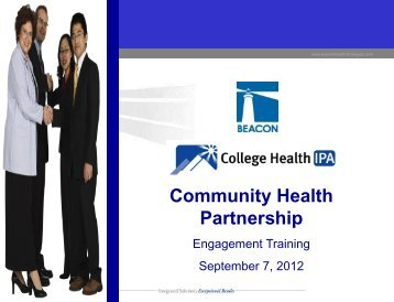 Engagement Training - College Health IPA