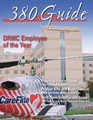 DRMC Employee of the Year - 380Guide Magazine