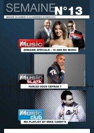 SEMAINE SPÉCIALE : 15 ANS M6 MUSIC PARLEZ-VOUS CEFRAN ...