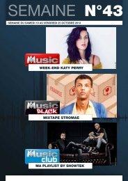 Bulletin M6 Music n°43 du 19 au 25 octobre 2013