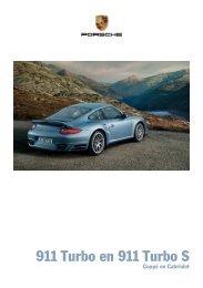 911 Turbo en 911 Turbo S