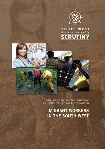 Migrant Workers in the South West - PDF format