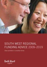 Regional Funding Advice 2009 - 2019 - PDF format - South West ...