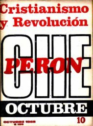 Cristianismo y Revolución Nº 10 (Oct. 1968) - CeDInCI