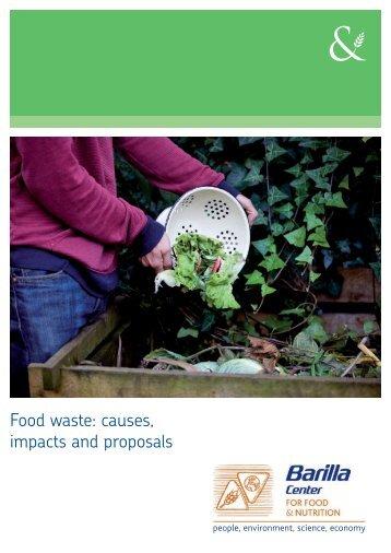 Food waste - Barilla CFN