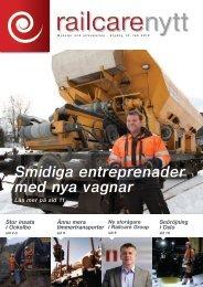 Railcarenytt 2010 (SWE)