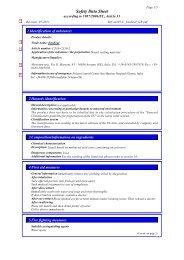 Safety Data Sheet - Micerium SpA