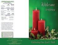hospital? stewardship financial update - Grace Presbyterian Church