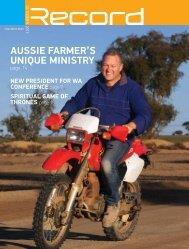 aussie farmer's uNique miNistry - RECORD.net.au