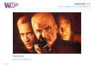SEMAINE N°42 THE ROCK - M6 Publicité
