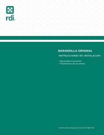 BARANDILLA ORIGINAL - Railing Dynamics