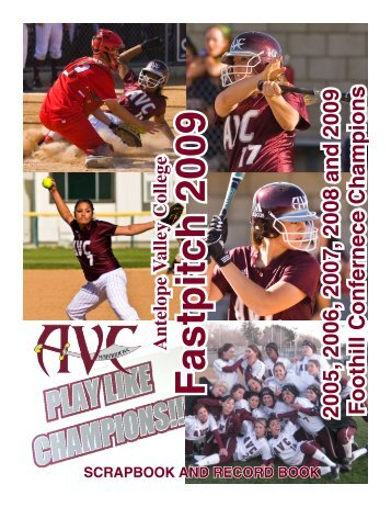 2009 Scrapbook - Antelope Valley College