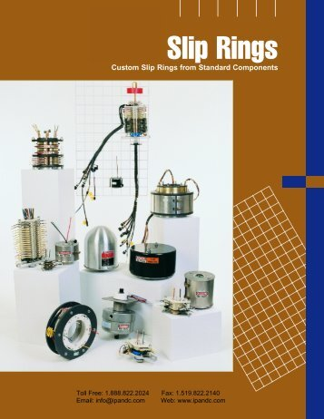 UEA Slip Rings - Industrial Power & Control